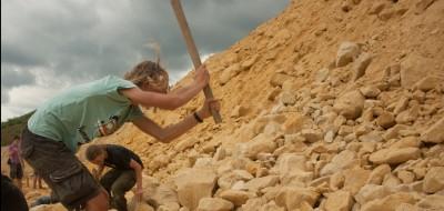 Op zoek naar fossielen met de NJN!